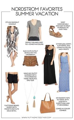 8 Things I'd Pack for a Summer Vacation + $200 Nordstrom Giveaway