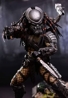 Alien Vs Predator, Predator Figure, Predator Cosplay, Predator Movie, Predator Alien, Predator Tattoo, Dragons, Alien Concept, Aliens Movie