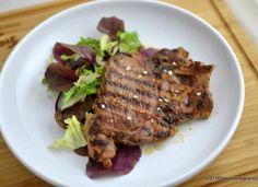 Ceafa de porc marinata – la gratar sau la tigaie Steak, Bbq, Low Carb, Healthy Recipes, Healthy Food, Urban, Archive, Heaven, Kitchen