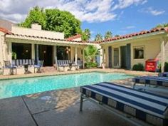 Casa Bonita awaits you behind the walled gardens on historic Indian Trail in Palm Springs. When you pass through the gates of this serene private Palm Springs home for rent, you may think you have ste...
