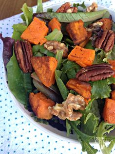 fuelingafitfam.com wp-content uploads 2016 01 Roasted-Sweet-Potato-and-Pecan-Green-Salad-with-Sweet-Orange-Mustard-Dressing.jpg