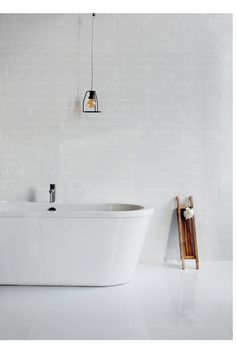 Minimal design but maximum impact - Freestark Bath from Britton Bathrooms. http://www.brittonbathrooms.com/Products/ProductDetail?prodId=3889&name=Freestark%20double%20-%20ended%20free-standing%20bath%20%26%20surround