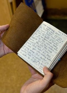 Write love letters to him in a journal throughout the engagement, and give it to him on your wedding day. I think this is something I would like to do.