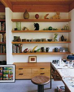 Estúdios De Arte, Escritórios And Estúdios De Arte Em Casa On Pinterest