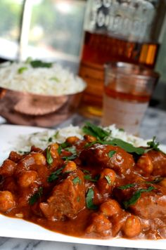 Vegan Life Changing Masala with Beef & Chickpeas