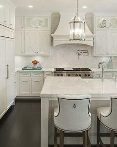 Gorgeous all white design by Great Neighborhood Homes