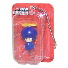 New Super Mario Bros Wii Blue Toad (key chain)