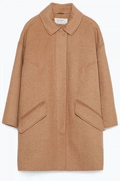Zara Hand Made Camel Coat, £79.99
