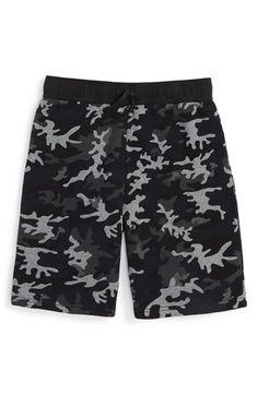 Ralph Lauren Camo Print Fleece Shorts (Big Boys) available at #Nordstrom