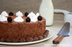 Tarta mousse de mascarpone y chocolate