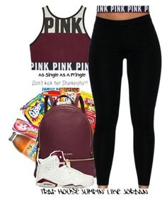 Untitled #110 by daijahhill25 ❤ liked on Polyvore featuring Betty Crocker, Michael Kors, NIKE, AG Adriano Goldschmied, Pringle of Scotland and allaboutme