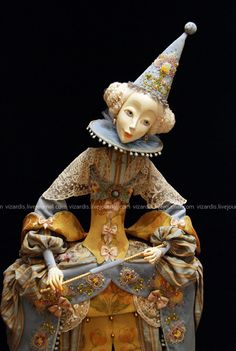 DSC_8161_sv | Flickr - Photo Sharing! Plastic Art, Guys And Dolls, Clothespin Dolls, Small Sculptures, Half Dolls, Doll Tutorial, Creepy Dolls, Flora, Fairy Dolls