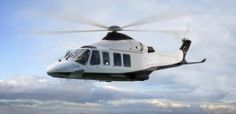 Candy & Candy Agusta Westland AW139 Helicopter exterior