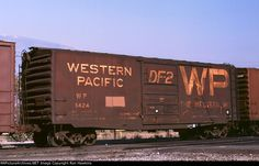 Western Pacific Box Car  Collection of Ron  Hawkins    The sound of the trains at night...home sweet home.<3