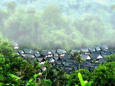 KAMPUNG NAGA in Tasikmalaya INDONESIA
