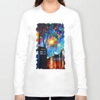 Tardis Romantic Night Long Sleeve T-shirt