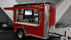 Tailgating the pre-game tech style.... Would love to do this.....  #Ultimate Tailgate #Fanatics