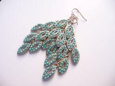 The Karina Earrings by Eleganceforyou on Etsy, $20.00