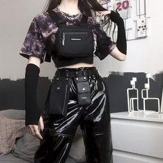 Grunge Outfits, Edgy Outfits, Cute Casual Outfits, Pretty Outfits, Alternative Outfits, Alternative Mode, Kpop Mode, Mode Emo, Egirl Fashion