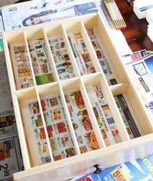 custom wood diy kitchen utensil drawer organizer cheap-10