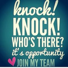 "I am looking for men and women to join my team. Work is never ""work"" when you love what you are doing. Please check out my website and tell me what you think. We can do it!! beautyandwarmth.scentsy.us .. Looking forward to hearing from you."