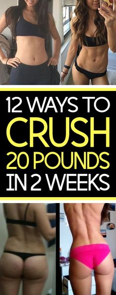 If you think it's impossible to drop 15  pounds in 2 weeks then you need to read this article. No magic pills, insane diets or crazy fads – simply pick four of the fitness expert and nutritionist secrets that follow and add them to your schedule for the next 14 days.