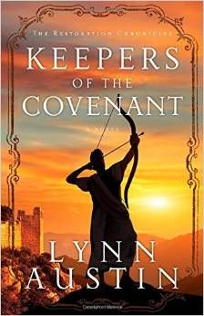 Keepers Of The Covenant by Lynn Austin – Book Review - http://www.bizzymomsworld.com/my-reviews/keepers-of-the-covenant-by-lynn-austin-book-review/
