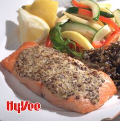 If you've got about 10 minutes, you've got enough time to make Mustard-Crusted Salmon. The broiler does most of the work for you. Serve with some steamed vegetables and grains and you've got it made.