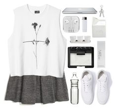 """""""i'm walking the long road, watching the sky fall"""" by theres-stars-in-her-eyes ❤ liked on Polyvore featuring Madewell, Filling Pieces, Dot & Bo, NARS Cosmetics, Threshold and BIA Cordon Bleu"""