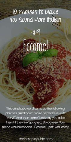 Italian Phrases Eccome #learnitalian