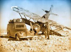 FIAT CR 42 abbattuto.