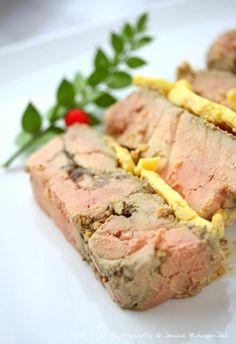 Terrine de foie gras au confit d'oignons et muscat de Baumes de Venise