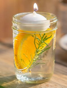 Orange Rosemary Citronella Candle