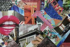 "Madison Bishop - original - ""dream bored"" - collage collection  fine more at madesbish.tumblr.com and https://www.pinterest.com/madbish/madesbish-art/"