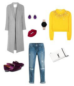 Sin título #17 by lzzqtt on Polyvore featuring polyvore, fashion, style, Miu Miu, ADAM, White House Black Market, Yves Saint Laurent, CLUSE, Amanda Rose Collection, Lime Crime and clothing