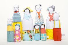 Le Family Dolls di Timo Handmade