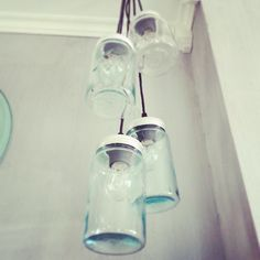Mason Jar Lamp, Kitchen Design, Table Lamp, Heart, Glass, Inspiration, Ideas, Home Decor, Biblical Inspiration