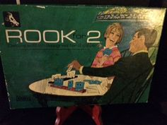 Vintage 1964 Rook For 2 Deluxe Edition Card Game For Two Players by CrystalTreasureTrunk on Etsy
