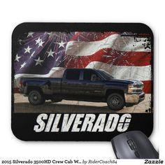 2015 Silverado 3500HD Crew Cab W/T Dually Mouse Pad