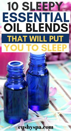 10 Sleepy Essential Oil Blends That Will Put You to Sleep