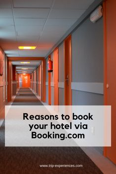 I'm not going to try and convince you to use Booking.com but I'll just explain why I use it to book hotels and why I believe someone should use it based on my experience. Explain Why, Travel Tips, Hotels, Books, Libros, Travel Advice, Book, Book Illustrations, Travel Hacks