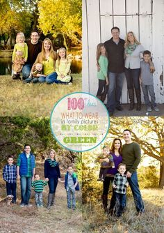 How to pick what to wear in family Pictures!  100+ Ideas on Capturing-Joy.com