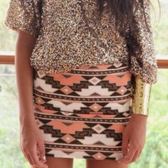 I want to try and make a skirt like this! Dusting off my sewing machine :)