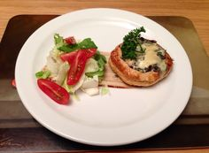Blue cheese and caramelised red onion tart! Mmmm delicious!