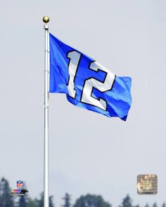 Photo File        Seattle Seahawks 12th man
