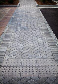 4x8 Herringbone crosswalk