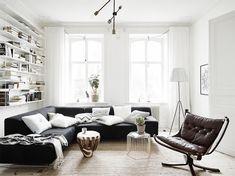 Lushome shares 6 basic principles for living room furniture placement and home staging tips from interior design experts for creating comfortable, functional and modern living room designs Living Room Scandinavian, Scandinavian Apartment, Living Room Modern, Home Living Room, Living Room Furniture, Living Room Designs, Living Room Decor, Scandinavian Style, Swedish Style