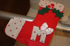 Come creare calze della befana in feltro / pannolenci - DIY Natale Bambini Idea Regalo