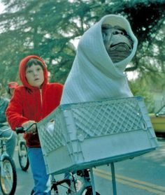 This movie scared the crap out of me growing up!!! And as joke my mother @Louise Accurso bought me an ET doll and then put it in my stuffed animal pile, and face it in the front, so it always stared at me, I would have to get up and throw it in the closet, i was so terrified of it lol