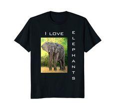 Branded T Shirts, Elephants, Fashion Brands, Whimsical, Wisdom, Love, Amazon, Mens Tops, Shopping
